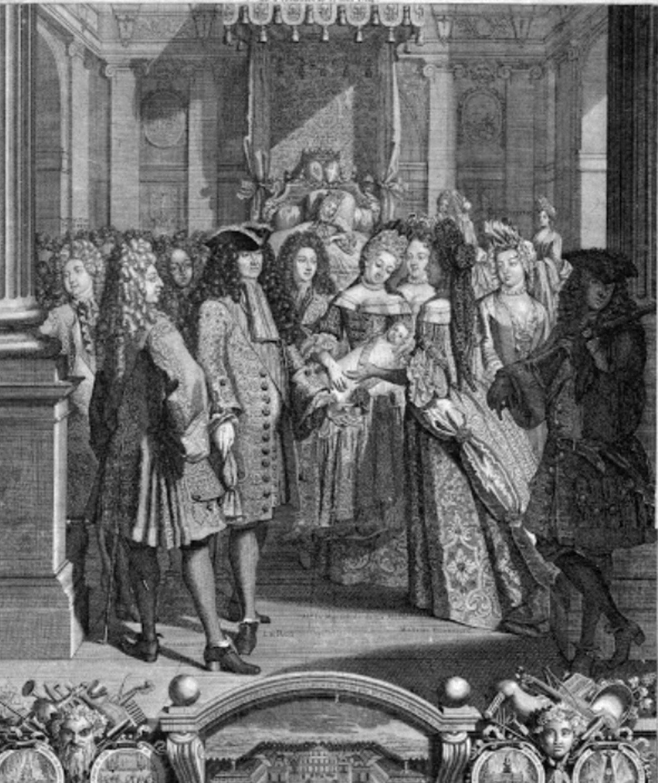 Nacimiento del primer nieto de Luis XIV, El Duque de Britany Añadir ...