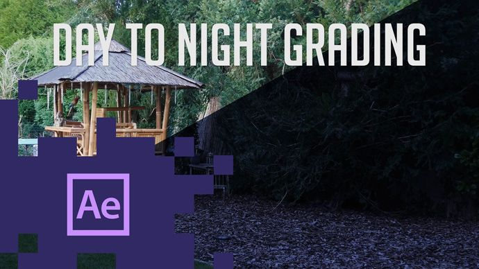 After Effects - Day to Night Video Conversion Tutorial