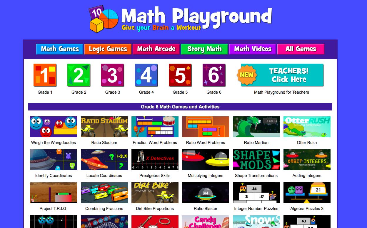 Online Math Games For Grade 6 Math Games Online Math Games Math