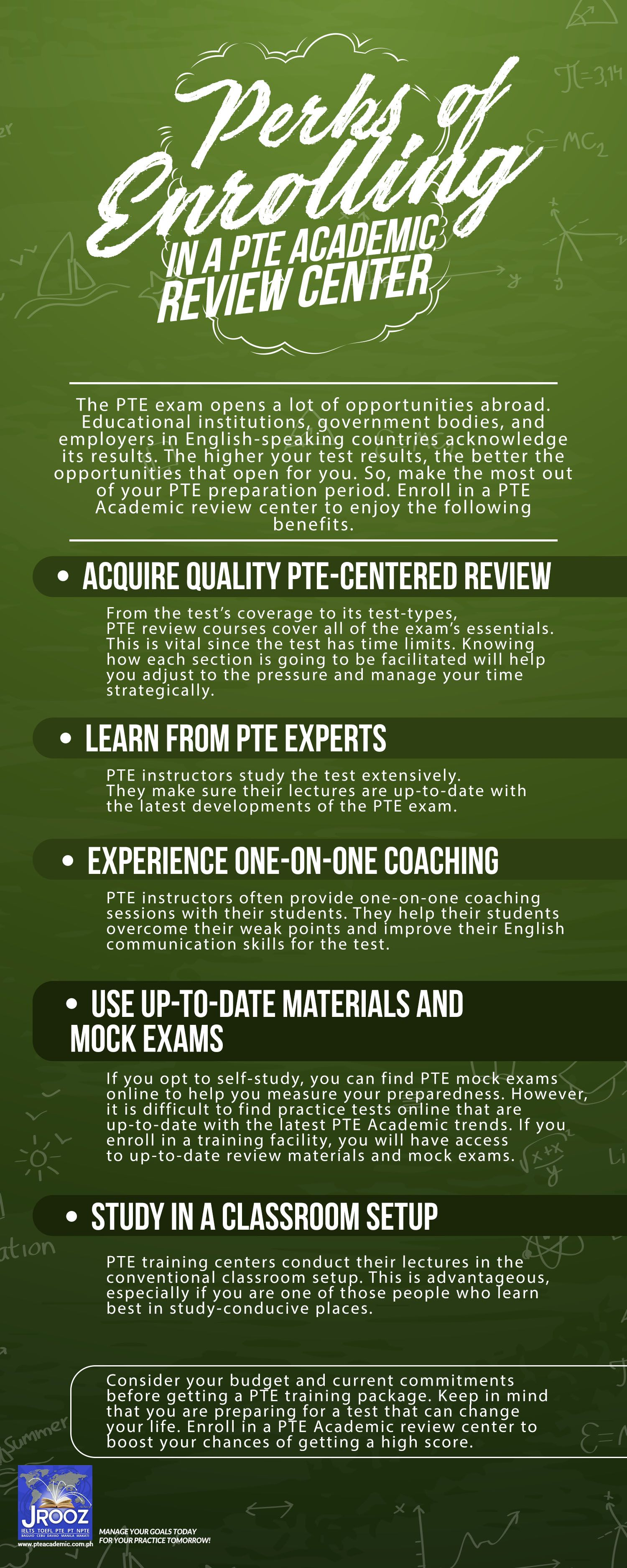 Perks of enrolling in a pte academic review center the pte exam perks of enrolling in a pte academic review center the pte exam opens a lot of opportunities abroad educational institutions government bodies xflitez Choice Image
