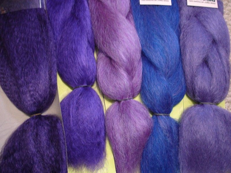 Color Comparison From Left To Right Dark Purple Orchid Blueberry