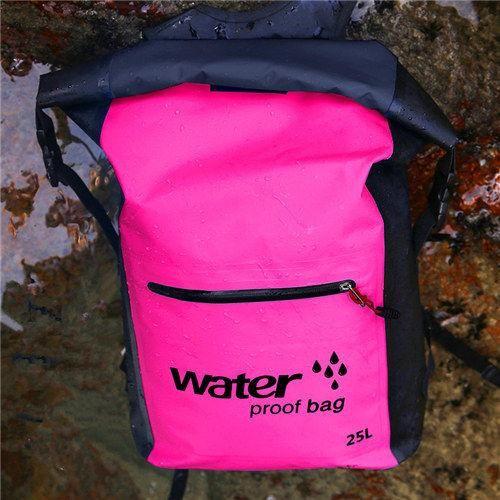 6f81929e0e 25L Waterproof Dry Bag Backpack Sack Storage Bag Rafting Sports Kayaking  Canoeing Swimming Bags Kits Backpacks