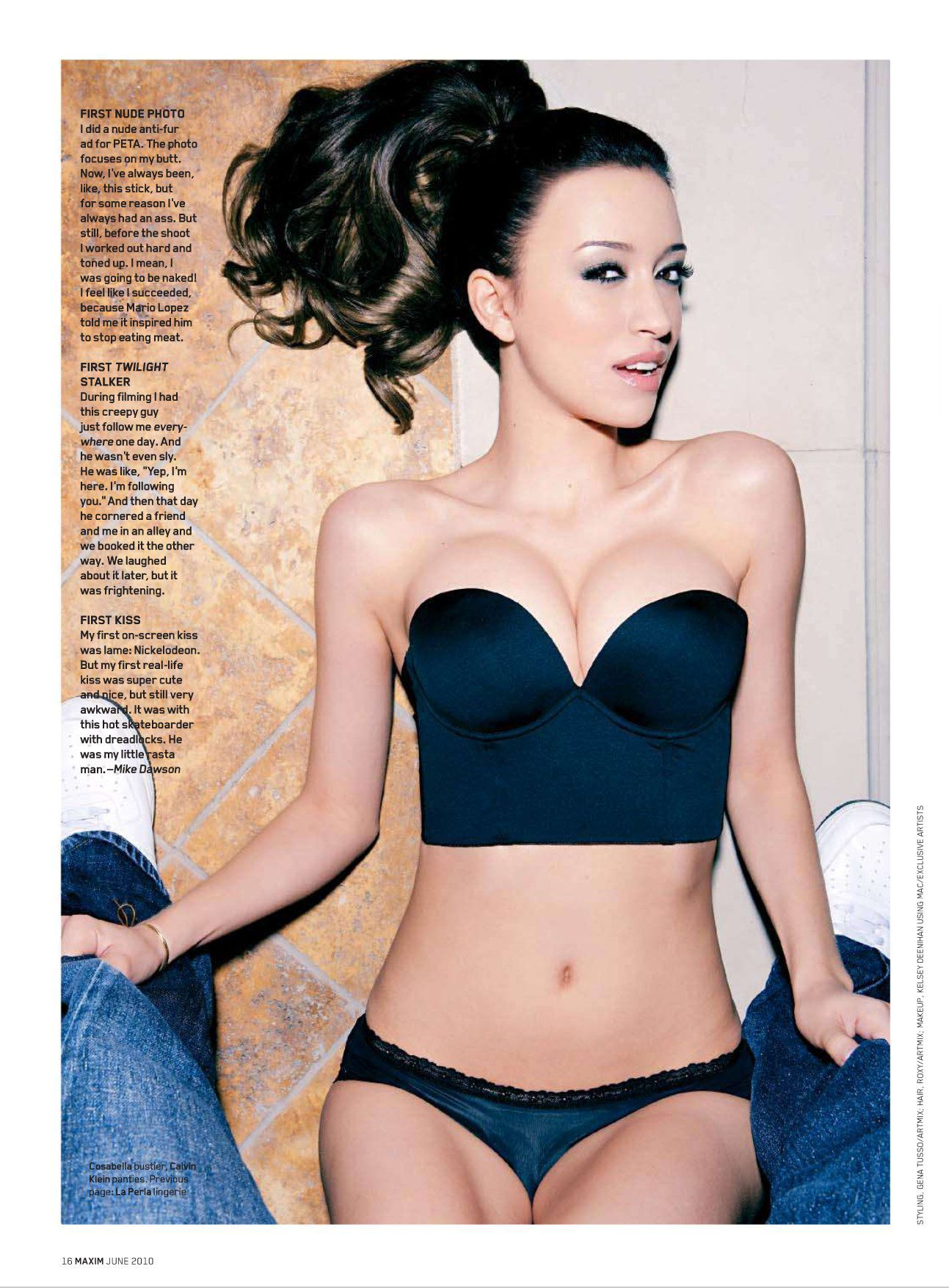 Think, that christian serratos naked pussy magnificent idea