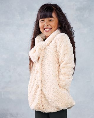 9e0c63d432ad Heart Fleece Jacket by American Widgeon - Girls