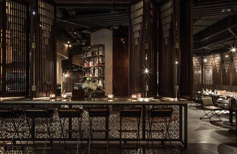 Movie Joyce Wang On Interior Design Of Hong Kong Restaurant Mott 32