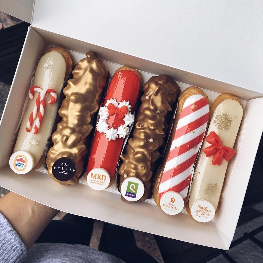 See This Instagram Photo By Eclairlittleartwork Likes - Ukranian bakery creates eclairs so perfect eating them would be a crime
