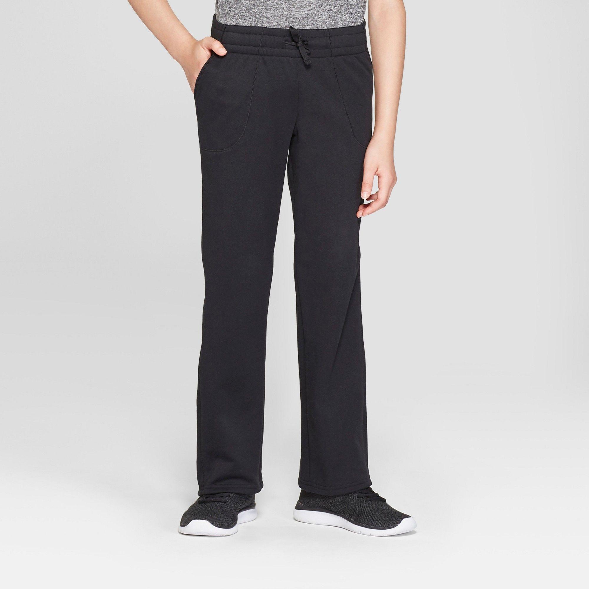 ae556374 Girls' Tech Fleece Pants - C9 Champion Black XS | Products