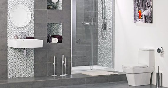 Modern Bathroom Wall Tiles
