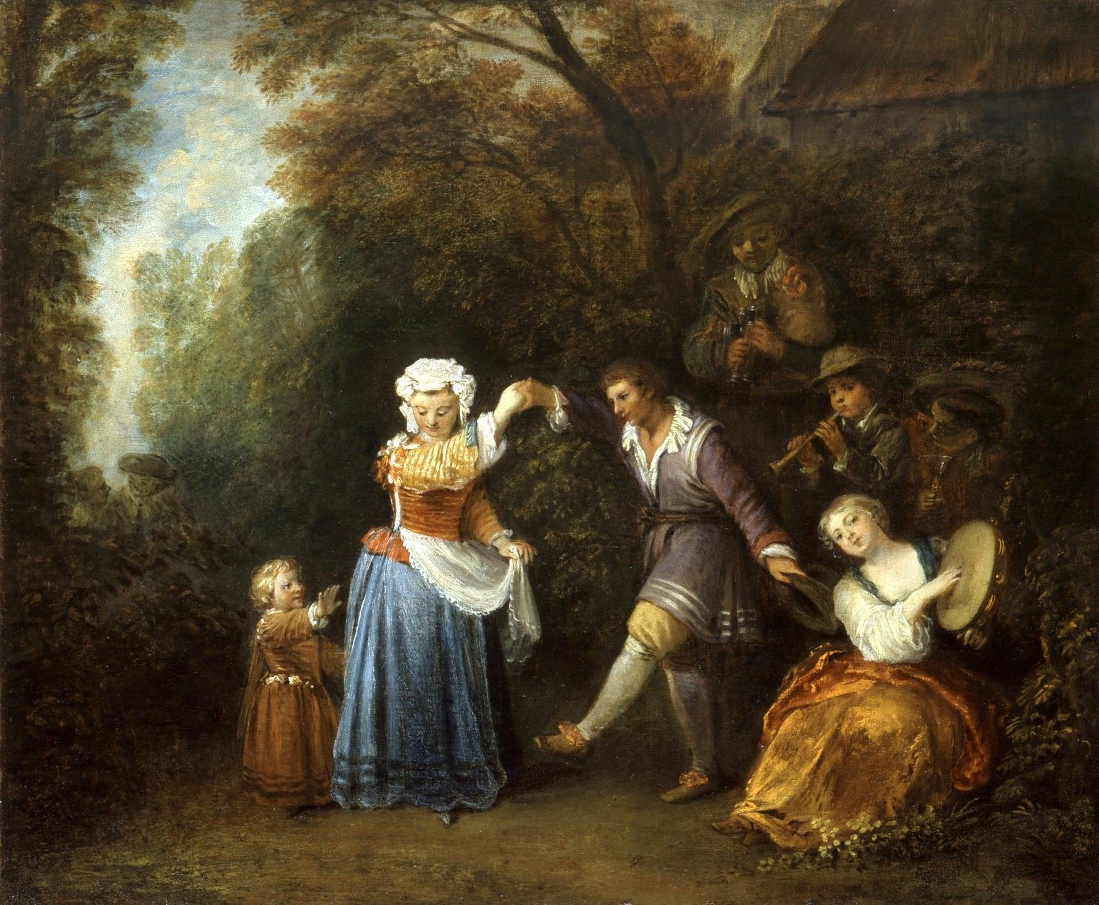 The Athenaeum The Country Dance Jean Antoine Watteau Jean
