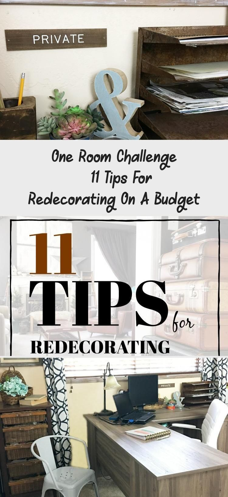 How to redecorate on a budget.  Here are some tips.  Find more on salvagesisterandmister.com #HomeDecorDIYVideosApartment #HomeDecorDIYVideosOnABudget #HomeDecorDIYVideosCheap #HomeDecorDIYVideosBedroom #HomeDecorDIYVideosIdeas