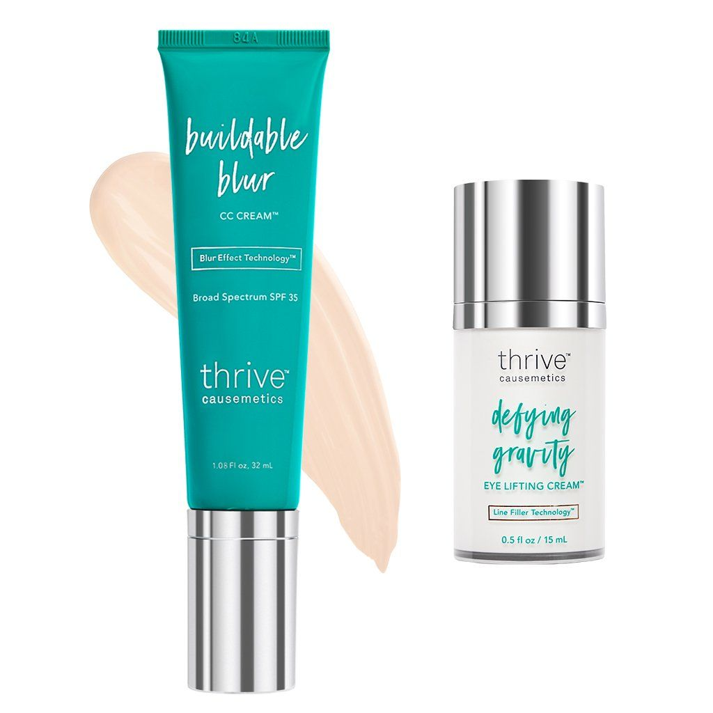 CC Cream + Defying Gravity Eye Cream™️ | Thrive Causemetics