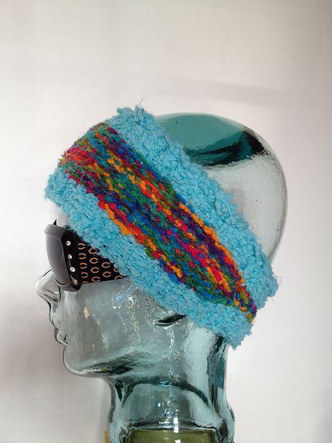 Tapered Ear Warmer Loom Knit Pattern By Candace Breaux My Yarn