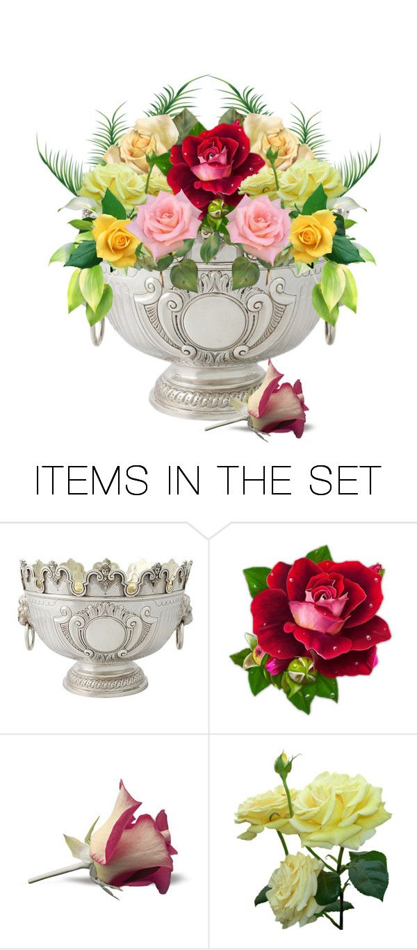 """""""Summer Roses"""" by francisjaimeaustin ❤ liked on Polyvore featuring art"""