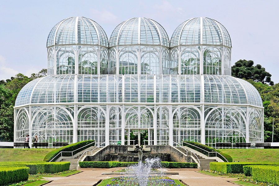 The most beautiful greenhouses around the world brazil for Architectural greenhouse