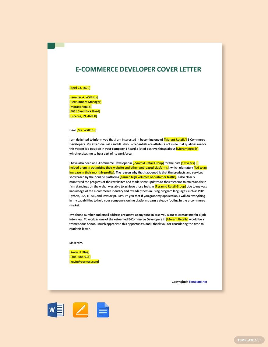 E Commerce Cover Letter from i.pinimg.com