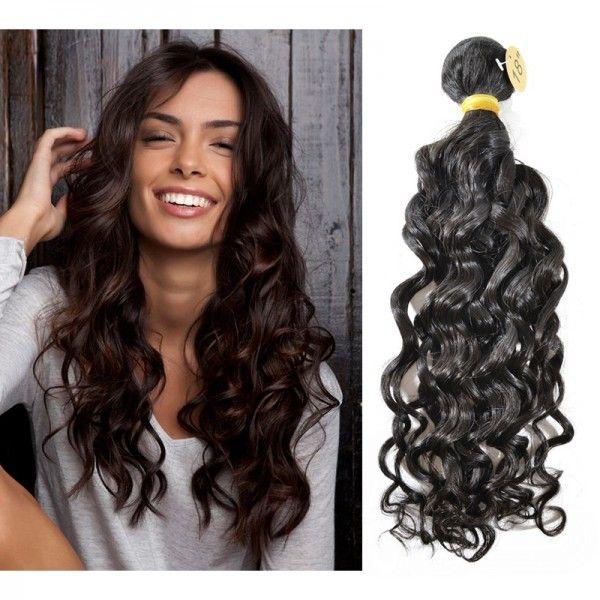 1 Bundle Brazilian Natural Wavy Virgin Hair Weave Extension Wdsd0034