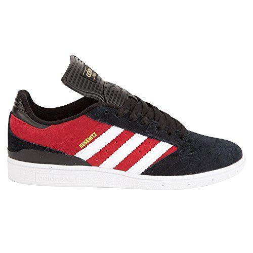 Adidas Busenitz Shoes Power RedWhiteCore Black Mens Sz 10