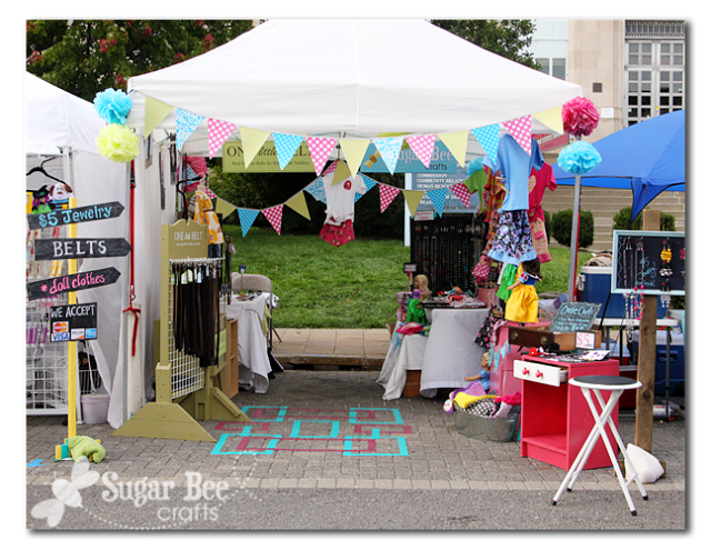 Booth ideas & Craft Fair Booth - Set Up and Tips | Bee crafts Craft fairs and Bees