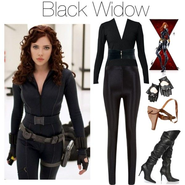 black widow by grungeclothes on Polyvore featuring ...