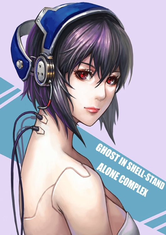 Top 5 Most Badass Female Anime Characters Anime Anime Ghost Ghost In The Shell
