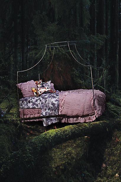 purple fairy princess bed!