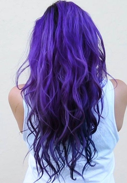 Blue purple hair hair and beauty pinterest hair coloring and blue purple hair pmusecretfo Images
