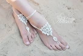 Resultado de imagen para barefoot sandals crochet tutorial