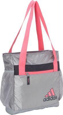 1f893e2a4fe1 adidas Squad II Club Bag Mid Grey Solar Pink Mercury Grey - via eBags.com!