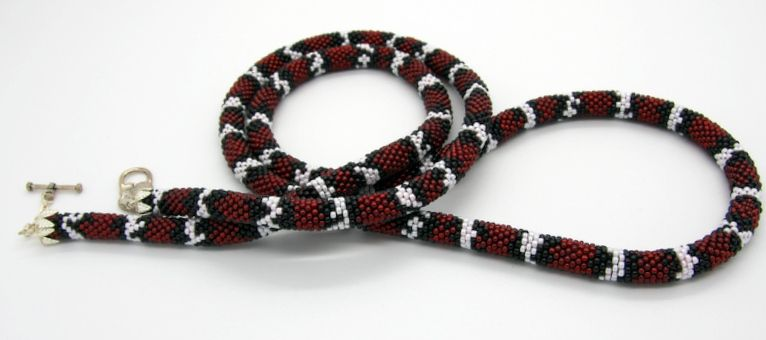 by jewellerybynatalia  snake skin pattern