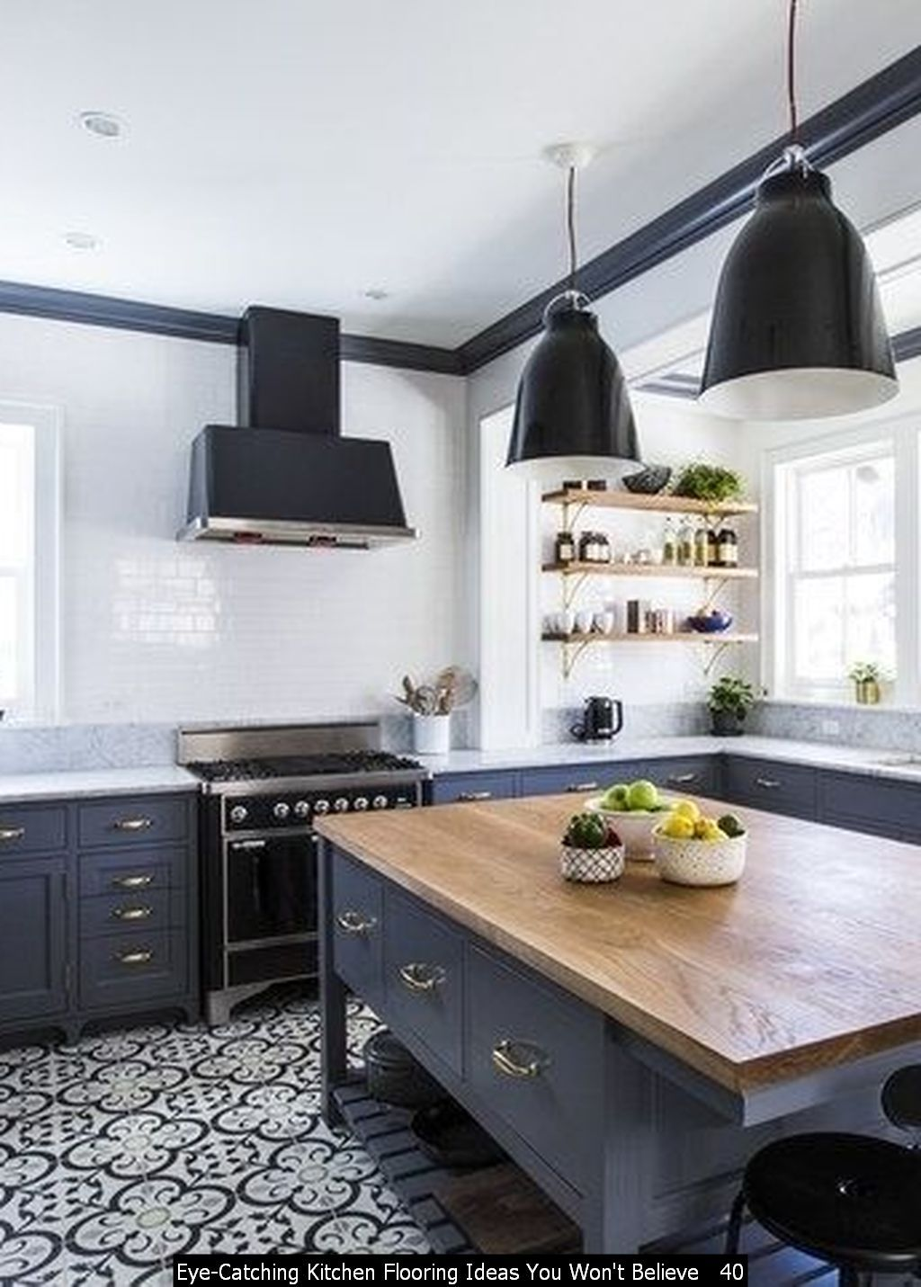 9 Eye Catching Kitchen Flooring Ideas You Won't Believe   Kitchen ...