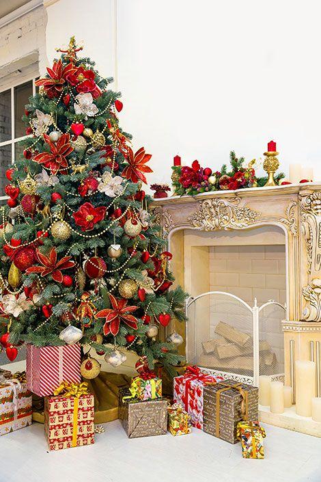 weihnachtsbaum schm cken 10 inspirationen von klassisch bis modern home deco pinterest. Black Bedroom Furniture Sets. Home Design Ideas