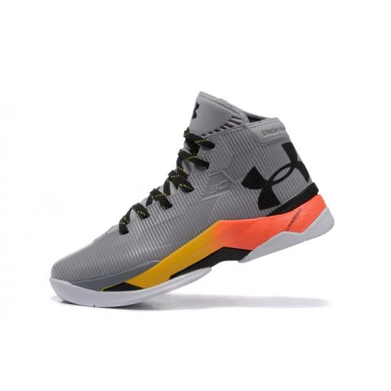 Cheap Under Armour Curry 2.5 Grey Black Cheap New Mens Shoes Basketball  Shoes Online For Sale