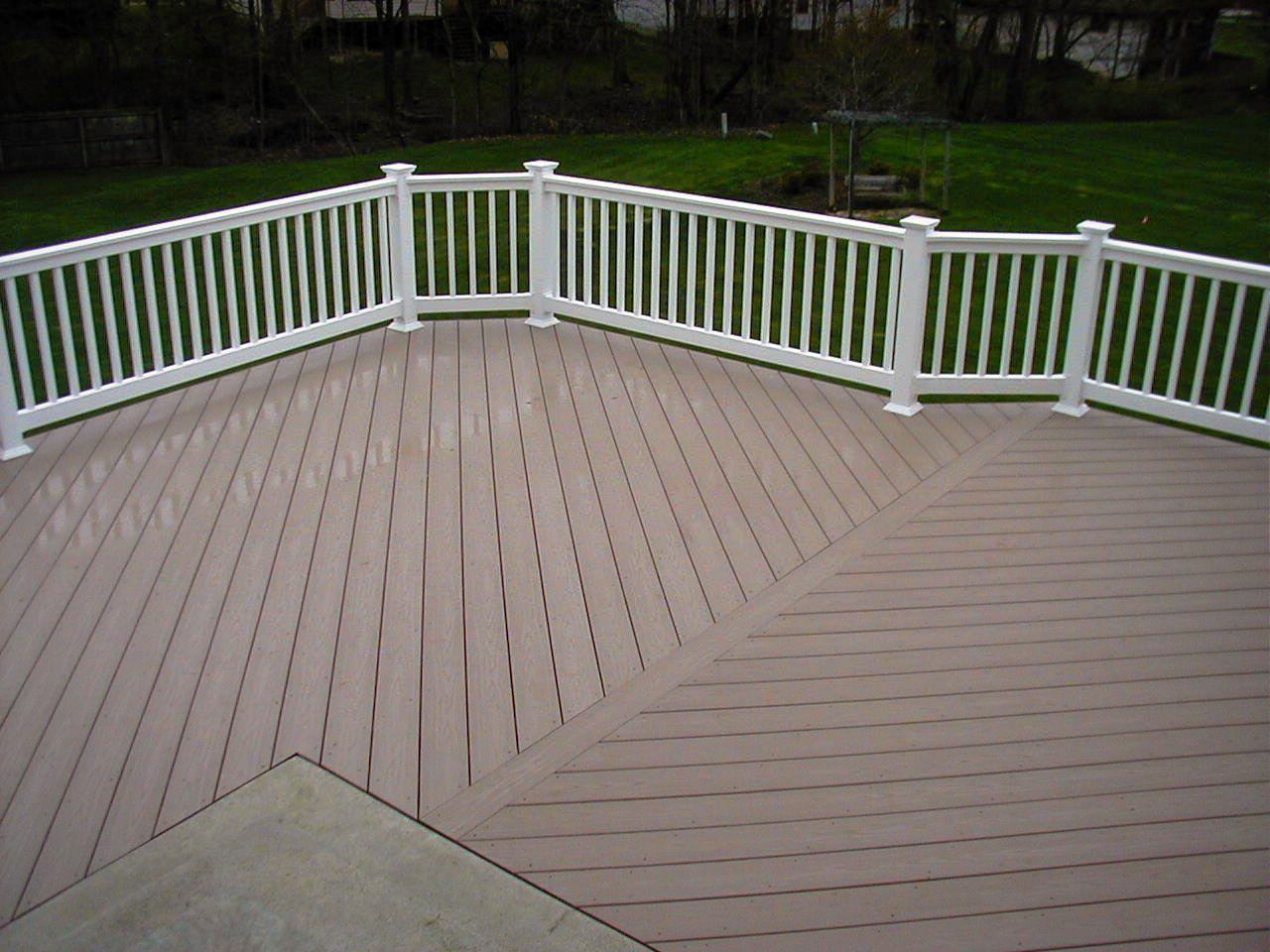 Azek Harvest Collection Brownstone Deck Solid 20' | Decking