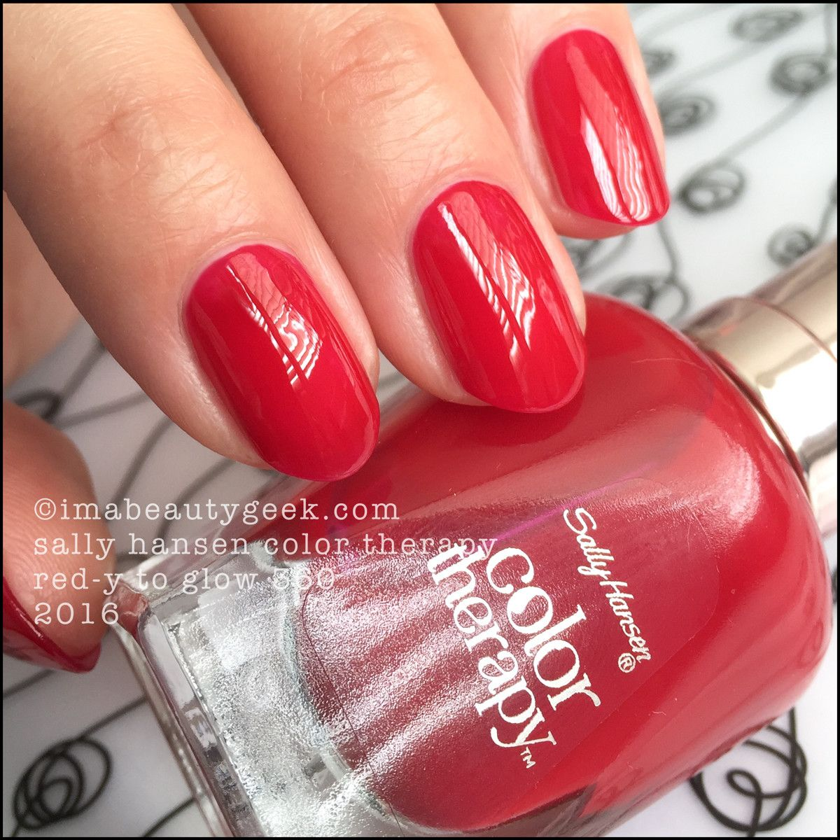SALLY HANSEN COLOR THERAPY SWATCHES & REVIEW Sally