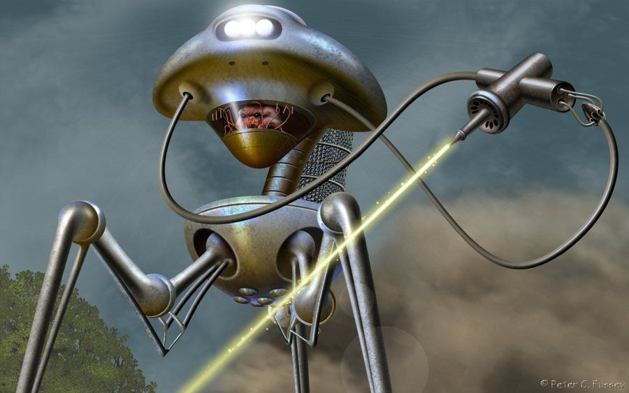 Pin On War Of The Worlds