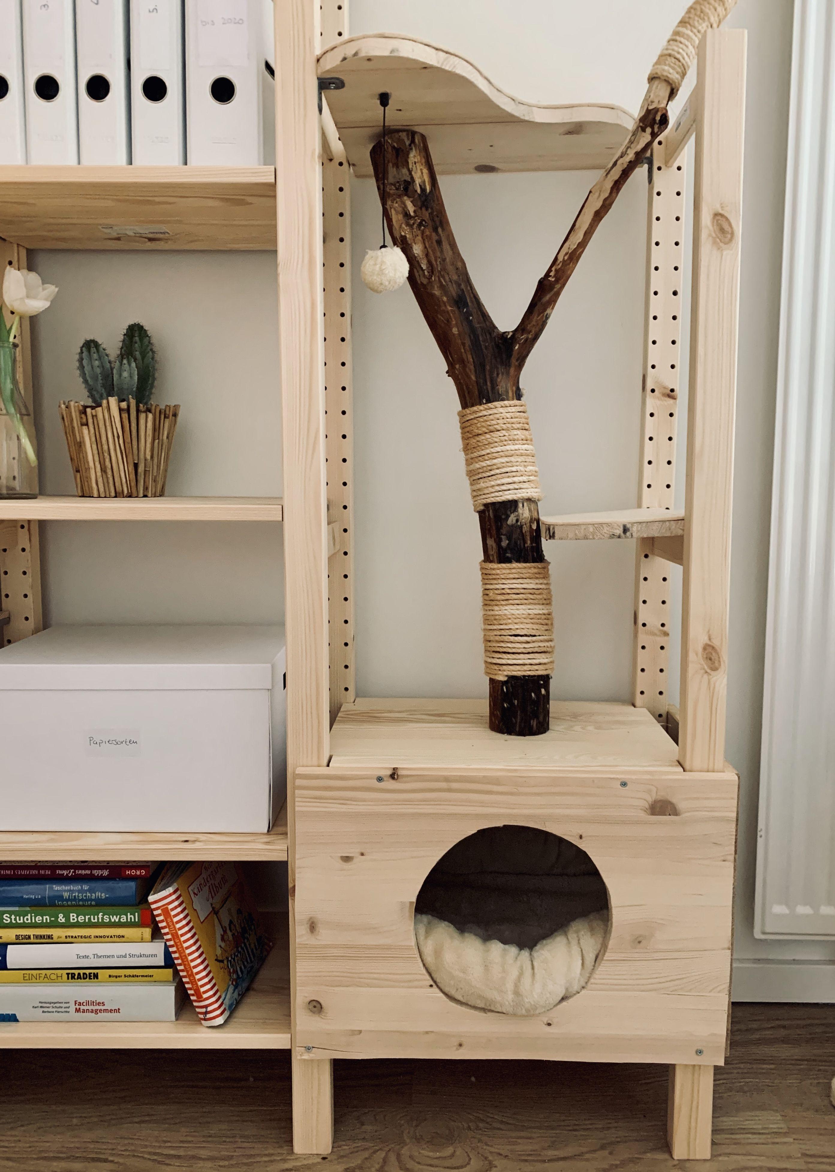 kratzbaum selber bauen ikea