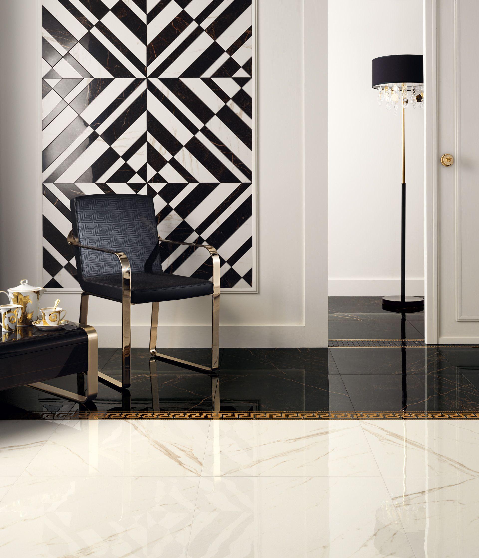 Pavimenti Versace Ceramiche Versace Ceramiche design Ceramiche bagno Versace  Bathroom