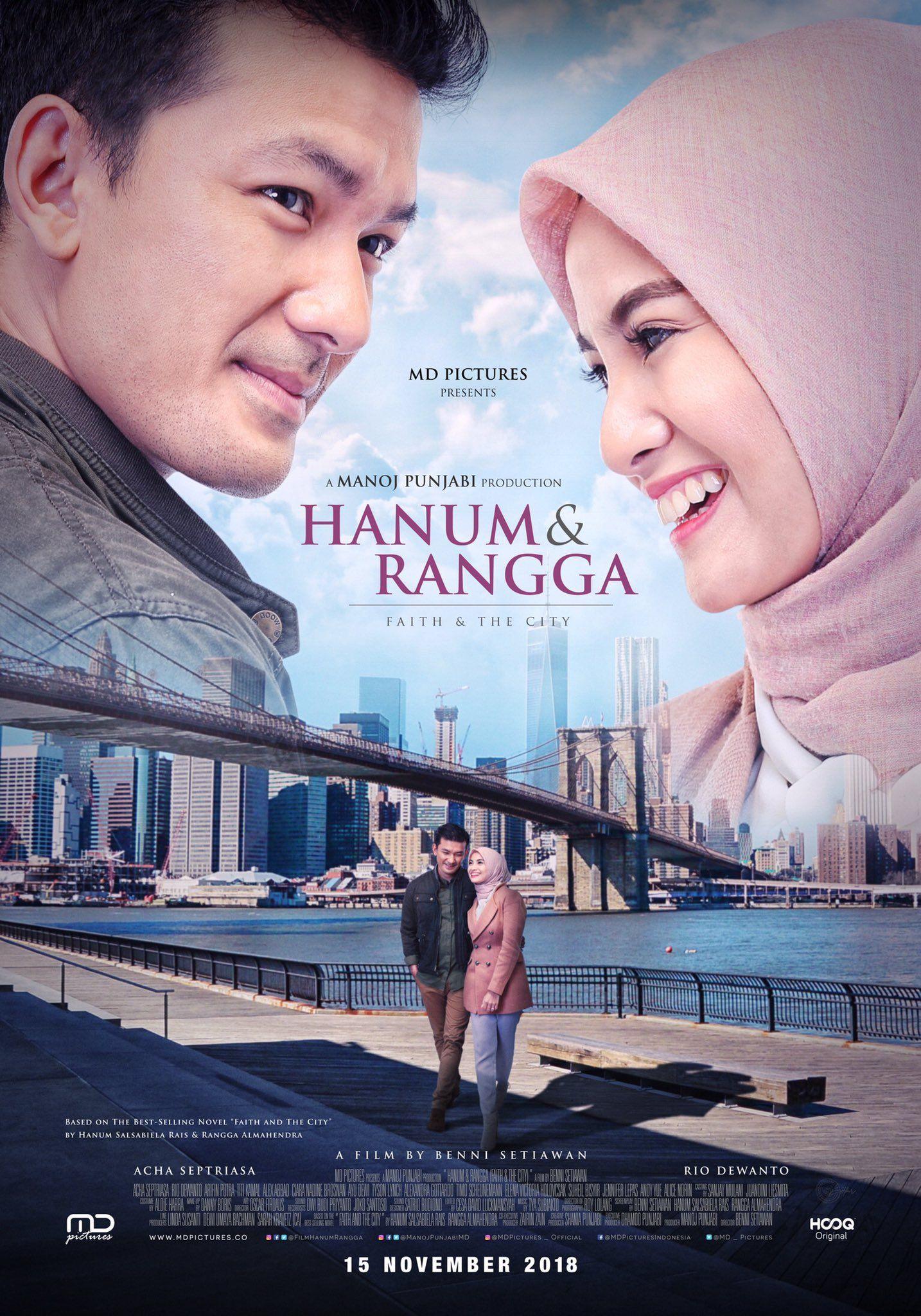 Hanum Rangga Poster Film Indonesia Pinterest Movies Movies