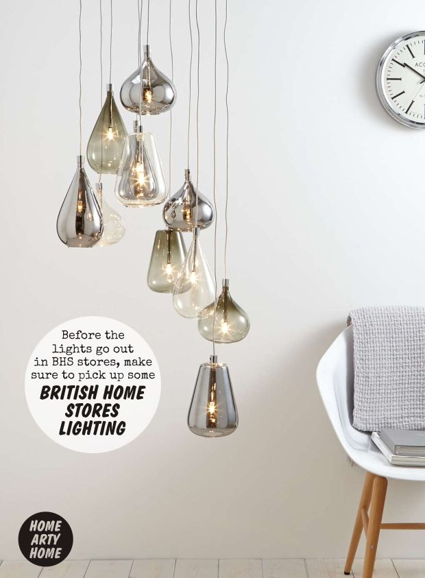 Before BHS Lights Go Out Grab British Home Stores Lighting