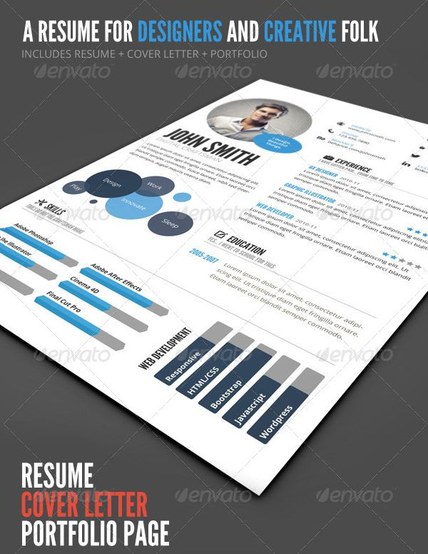 Charming InfoGraphic Style Resume Temp PSD , Infographic Resume Template For  Successful Job Application , Creating A Resume Is Not As Easy As You Think.