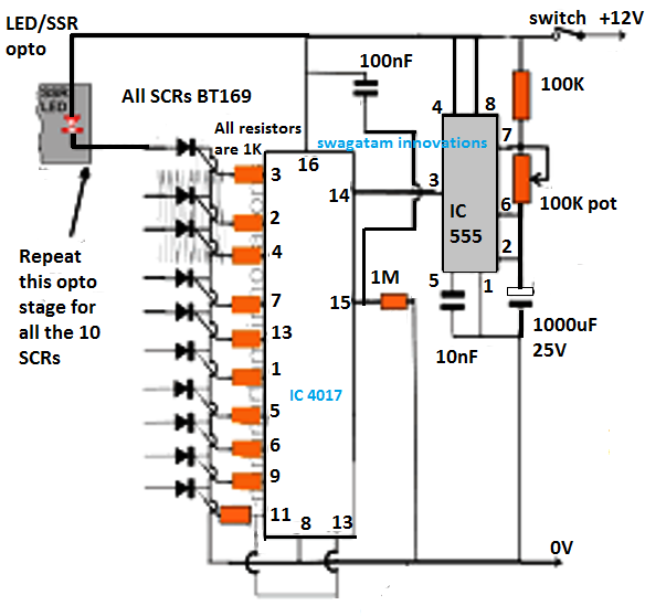 In This Article We Elaborately Learn To Make A 2 4ghz 10 Channel Remote Control Switch Circuit Circuit Projects Electronic Circuit Projects Electrical Gadgets