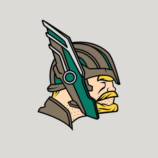 Minnesodinson Art Logo Marvel Fan Art Thor