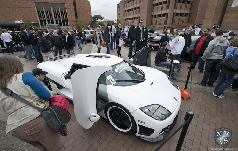Koenigsegg At The Red Square Charity Car Show Sponsored By