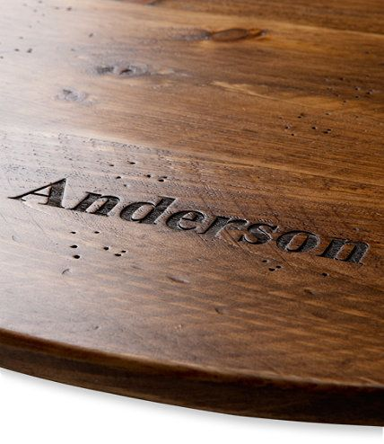 Rustic Wooden Lazy Susan Personalized Kitchen Free Shipping At L L Bean Lazy Susan Wooden Foodie Gifts