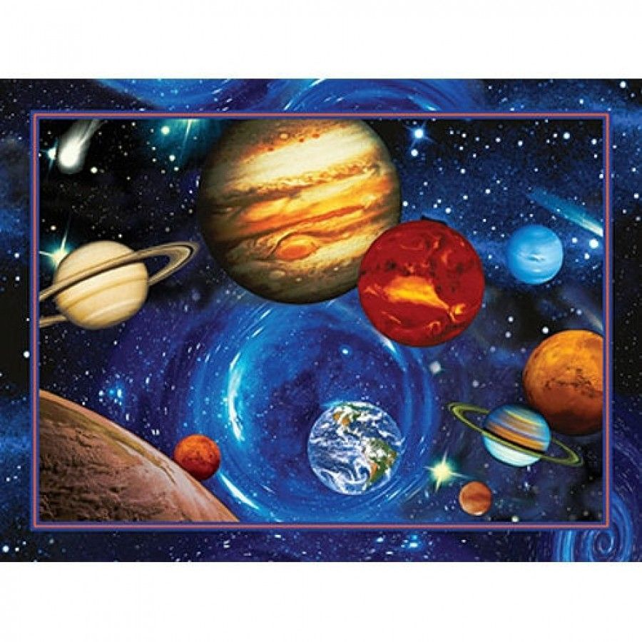 Art 4 Kids Planets In Orbit Wall Art 21536 Art Wall Kids Art