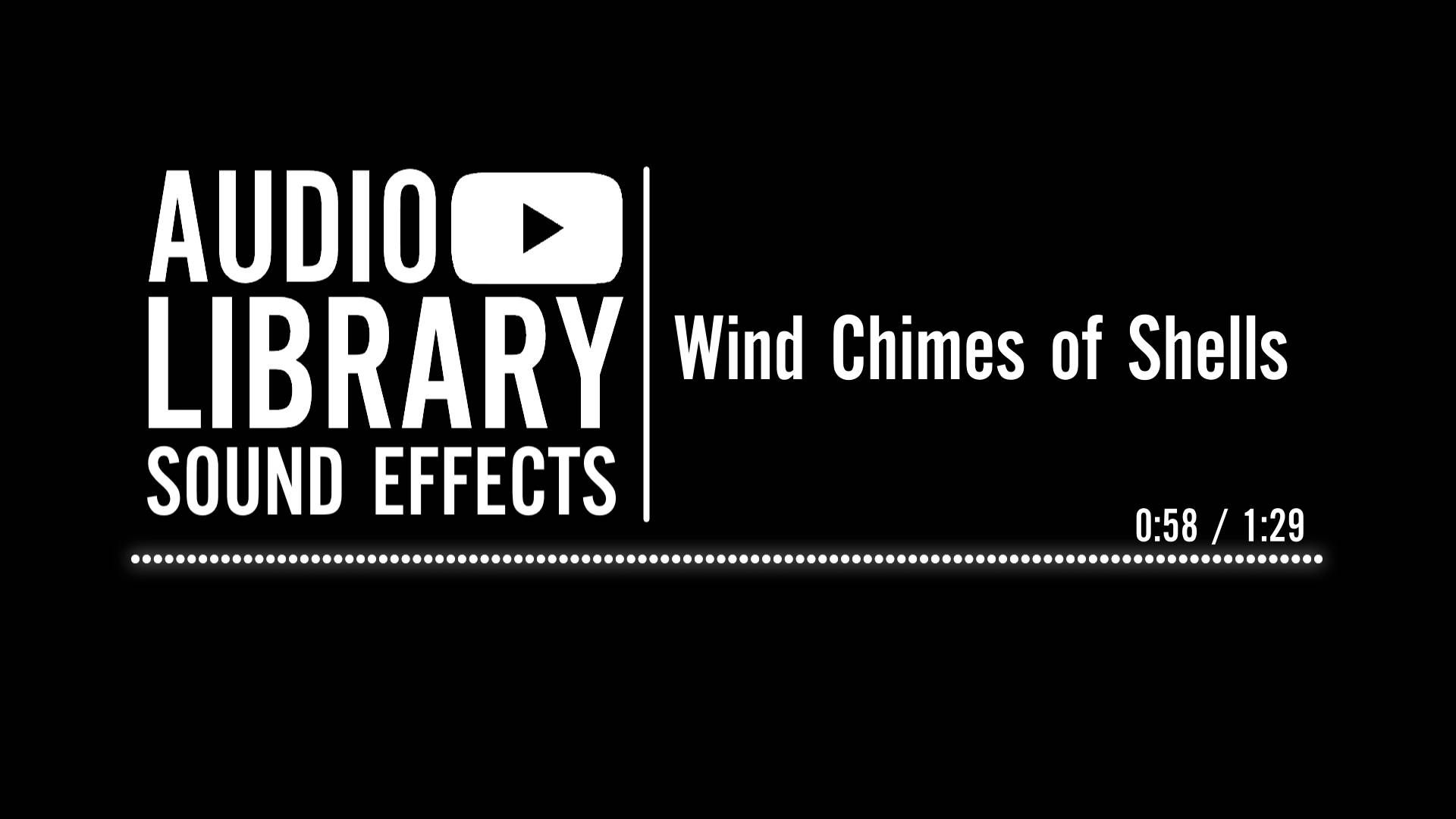 Wind Chimes of Shells - Sound Effect - YouTube | Awesome