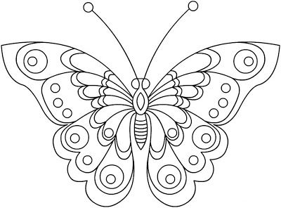 Bordados Em Pedraria Butterfly Coloring Page Butterfly Drawing