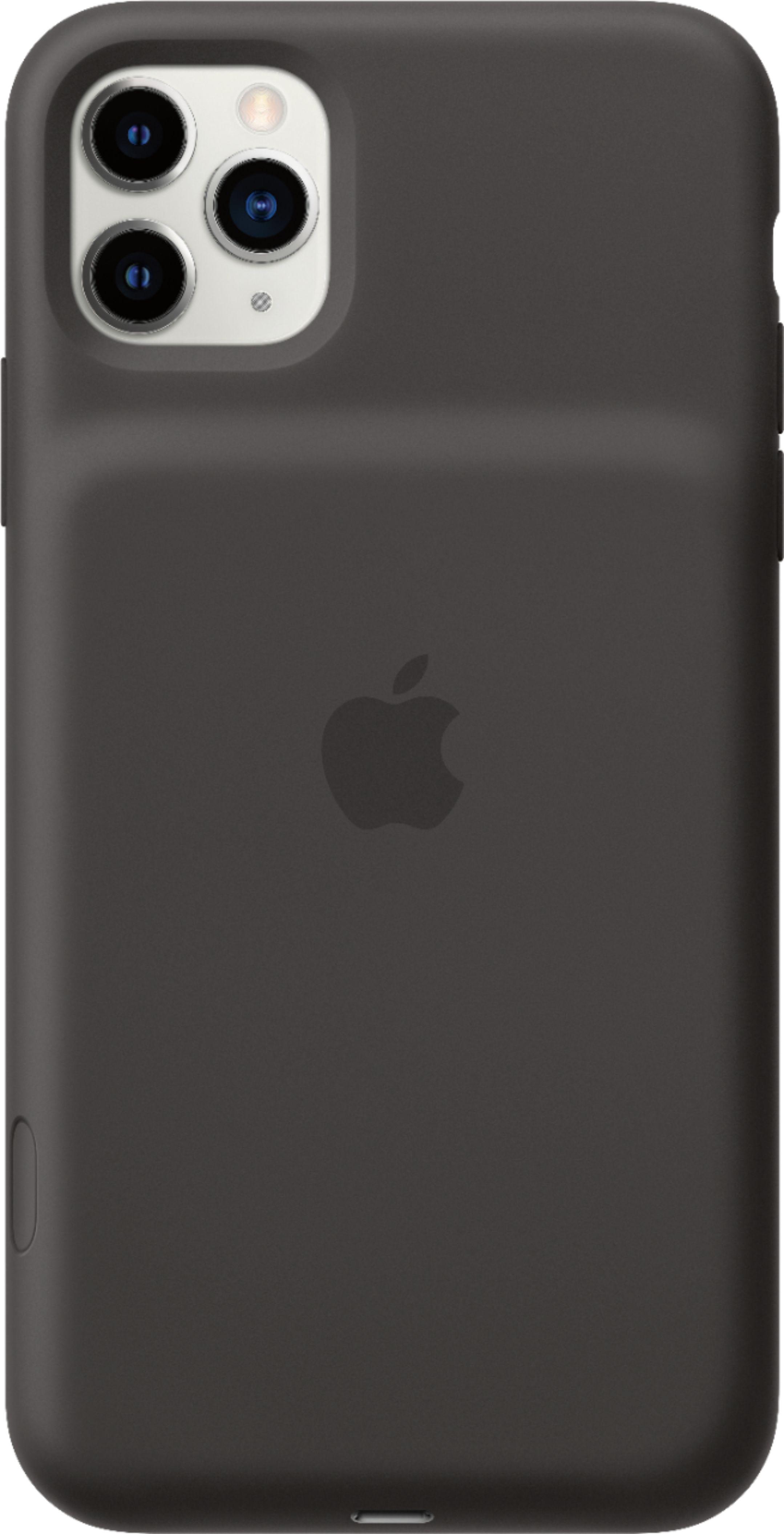 Apple iphone 11 pro max smart battery case black mwvp2lla