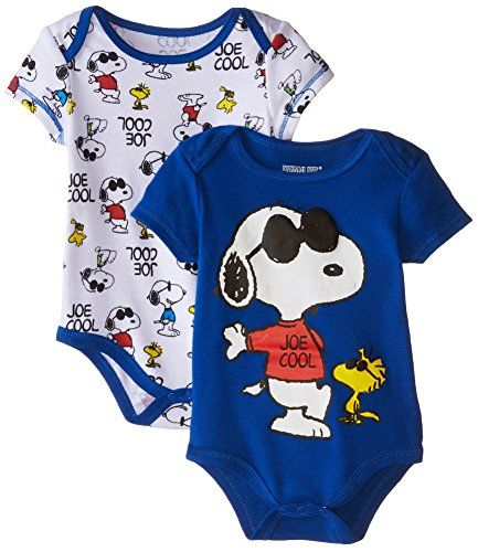 Disney Baby Baby-Boys Newborn Snoopy 2 Pack Bodysuit, Blue, 0-3 Months Disney http://www.amazon.com/dp/B00Y7YE484/ref=cm_sw_r_pi_dp_8.5awb131GMTY
