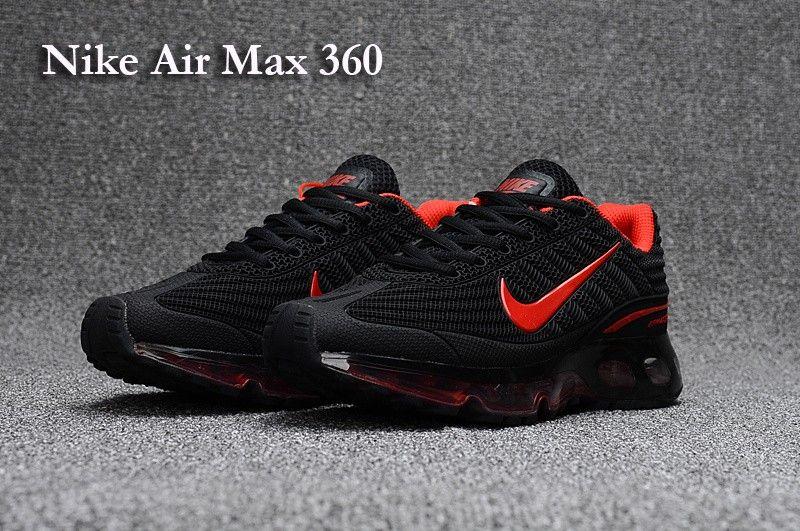 nike Max Kup Red Nike Shoes Air Black 360 Men Women KFJT1ulc3